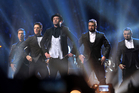 Lance Bass, JC Chasez, Justin Timberlake, Joey Fatone and Chris Kirkpatrick, of 'N Sync, at the MTV Video Music Awards. Photo / AP