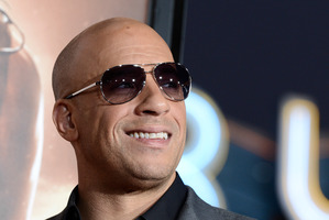 Actor Vin Diesel invested his house into making his newest film, Riddick. Photo / AP