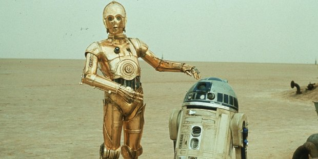 Sorry R2D2 - but when it comes to robots, people would like them to look a bit more like C3P0. Photo / NZ Herald