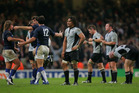 The All Blacks' 2007 loss to France in the Rugby World Cup quarter-finals in Cardiff got the