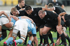 The Pumas pack will be tough at scrumtime. Photo / Mark Mitchell