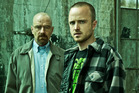 Stars of 'Breaking Bad' Bryan Cranston (left) and Aaron Paul.