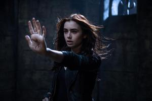 Lily Collins in The Mortal Instruments: City of Bones. Photo / FIle