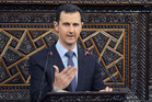 Syrian President Bashar Assad. Photo / AP