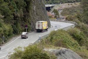 Roads through the Otira Gorge, Southern Alps. Photo / File