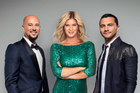 This year's New Zealand's Got Talent judging panel, from left, newcomer Cris Judd, Rachel Hunter, and Jason Kerrison.