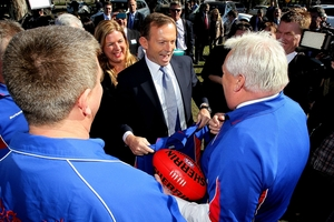 Tony Abbott's supporters can more easily justify the rich-poor divide. Photo / Getty Images