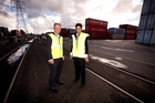 Graeme Marshall and Sara Lunam say Port of Tauranga prices are competitive. Photo / Dean Purcell