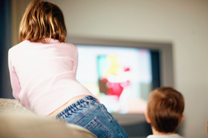 Socialising and being active were important to a child's development, so the more TV they watched, the less time they spent developing those important faculties. Photo / Getty Images