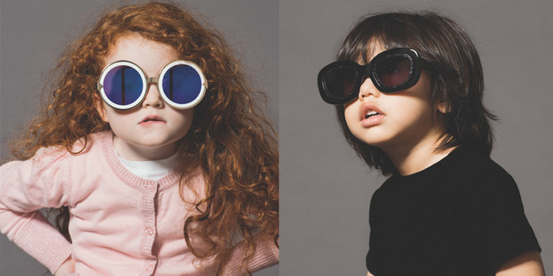 Alice-Rose and Tyler star in the new Karen Walker Eyewear campaign, photographed by Derek Henderson.