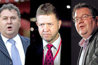 Shane Jones, David Cunliffe, and Grant Robertson are campaigning for the leadership of the Labour PartyPhotos / NZ Herald