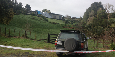 Police are continuing their investigation at the Papakura house where two bodies were found yesterday. Photo / NZ Herald