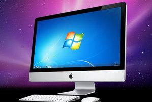 Windows 7 on an iMac.