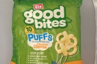Eta Good Bites Puffs BBQ and Cheese. $4.00 for 10 packets.