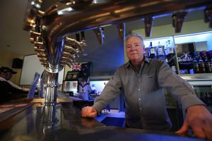 Bureta Trust bar owner Kevin Fraser has been told he has to vacate his bar by November 27. Photo: Joel Ford