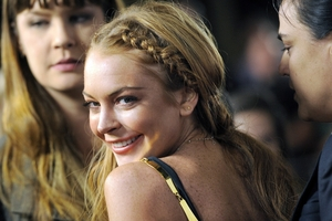 Lindsay Lohan is one of the famous people who has been treated at a  Malibu clinic for alcohol addiction. Photo / AP