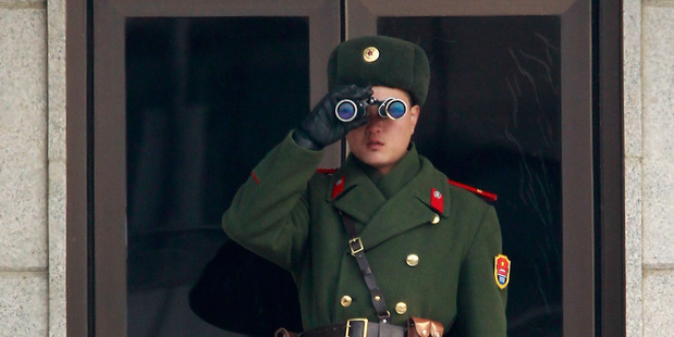 A North Korean soldier . Photo / Getty Images