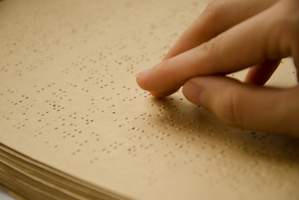 If you can see, chances are you can't read Braille. Photo / Thinkstock