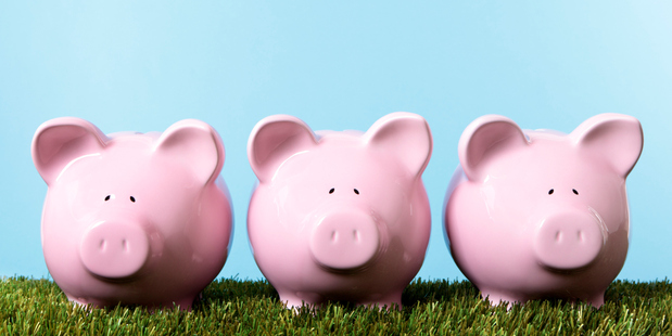 Cash deposits have come a long way since piggy banks. Photo / Thinkstock