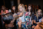 Models backstage before a show at Australian Fashion Week earlier this year. Photo / Getty Images