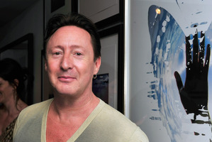 Julian Lennon has recreated his father's iconic Imagine promo photograph. Photo / Getty Images