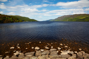 During both of my loch visits I ventured out on boats to search for the mighty beast, says Darby.  Photo / Thinkstock