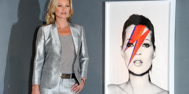 Kate Moss at the 'Kate Moss: The Collection' auction.Photo / Getty