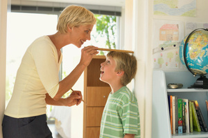 Children tend to be taller if the mother drank 150ml of milk a day.Photo / Thinkstock
