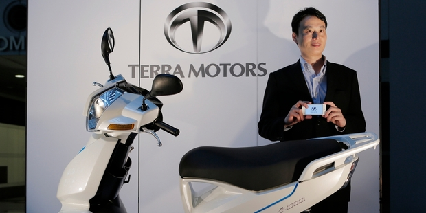 Terra Motors founder Toru Tokushige says startups have no problems recruiting quality people. Photo / AP