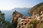 Walking or cycling is a great way to take in Italy's spectacular Cinque Terre.