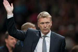 Manchester United manager David Moyes. AP