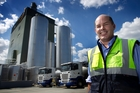 Miraka CEO Richard Wyeth says milk flow is ahead of budget. Photo / Alan Gibson