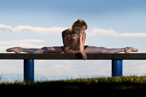 Abby Griffin, 17, is studying hard towards her ambition of becoming a dancer for a European company. Photo/John Borren