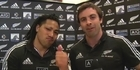Watch: Team NZ gets All Black support