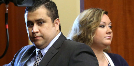 George Zimmerman's wife Shellie has filed for divorce after his high-profile court case. Photo / AP
