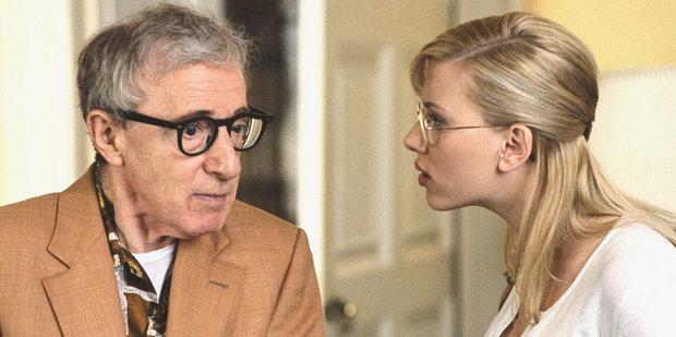 Woody Allen, seen with Scarlett Johansson on the set of Scoop in 2007, is a prolific filmmaker.