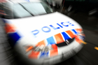 Police car fleet numbers may be reduced by ten per cent to save money, according to a new report. 15 June 2009 New Zealand Herald Photograph by Martin Sykes NZH 16Oct12 - Tickets are generally wai