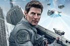 Tom Cruise stars in sci-fi flick Oblivion.