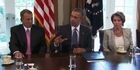 Watch: President presses Syrian case in Cabinet