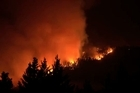 Yosemite National Park have shared time lapse footage of the Rim Fire that has been raging in the natural beauty spot in August 2013.  California's massive Rim Fire has already burned at least 192,500 acres of forest and scrub, including 43,000 acres of Yosemite National Park, since it started on Aug. 17.