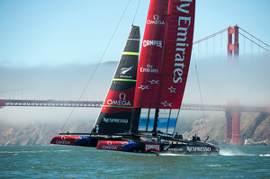 Emirates Team New Zealand. Photo / Chris Cameron