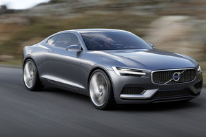 Volvo concept coupe. Photo / Supplied
