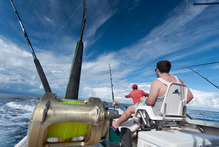 Fishing off Denarau, Fiji. Photo / Ben Crawford