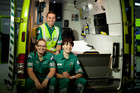 'Street Hospital', the new TV2 series that follows the crews of the Wellington Free Ambulance Service.