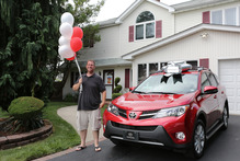 Toyota's 50 millionth customer Photo / Supplied