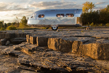 Bowlus Road Chief caravan. Photo / Supplied