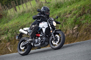 The Yamaha MT-03 is more than just an around-town commuter bike. Pictures / Supplied