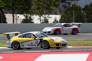 Richie Stanaway is eager to move himself up the points table in the Porsche Supercup.