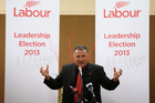 Shane Jones speaks at during Labour Party tour of leadership hopefuls at Wesley Centre, Tauranga. Photo: Joel Ford