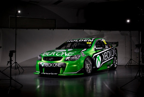 The car built for the Bathurst 1000 by Triple Eight racing to promote Xbox One game Forza Motorsport 5.